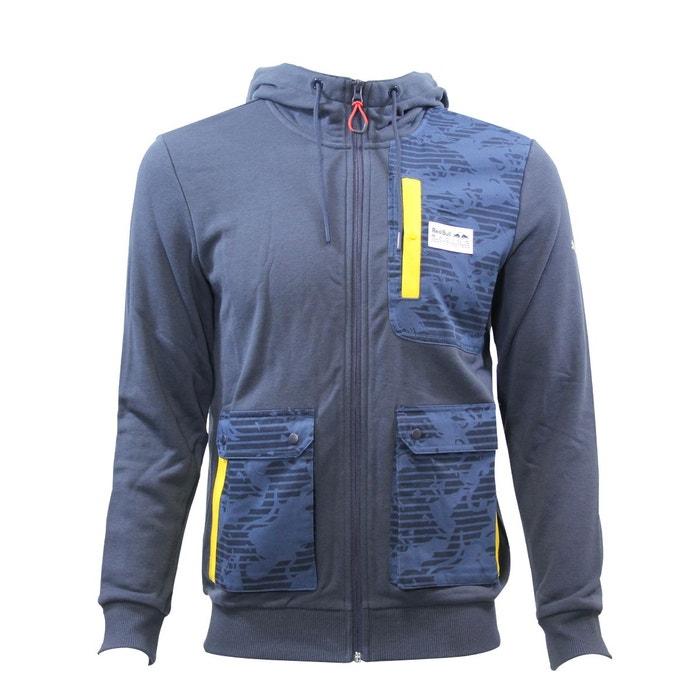 puma red bull racing hooded sweat jacket veste homme bleu bleu puma la redoute. Black Bedroom Furniture Sets. Home Design Ideas