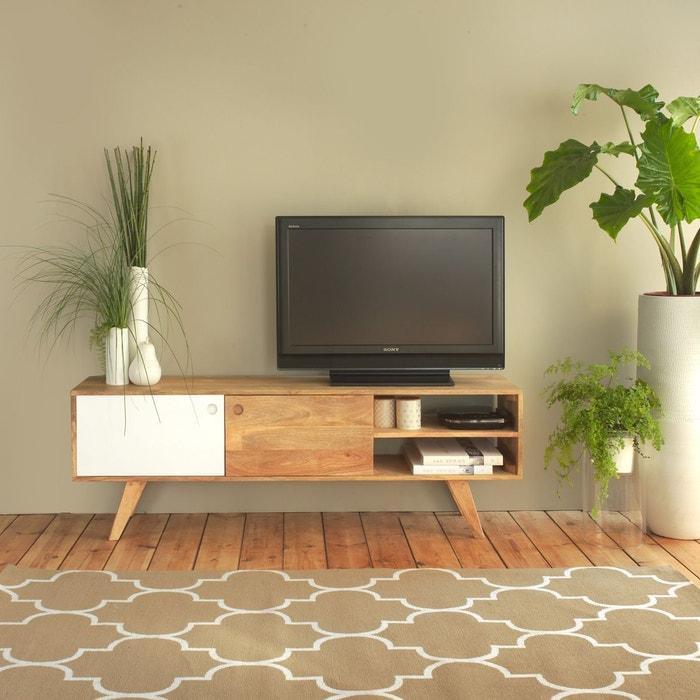 meuble tv scandinave en bois artiq bt0196g bois made in meubles la redoute. Black Bedroom Furniture Sets. Home Design Ideas