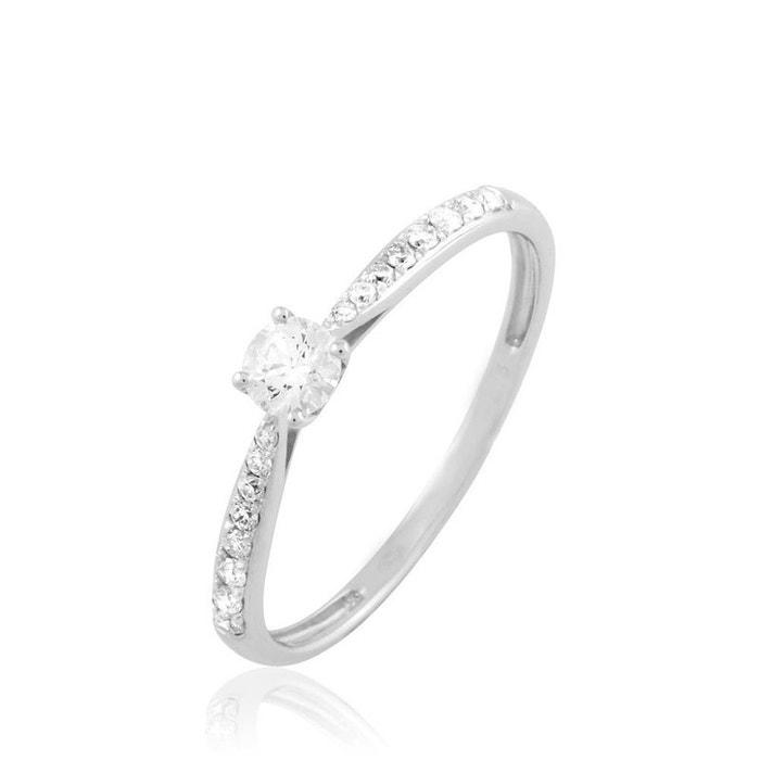 Solitaire or blanc laetitia diamant blanc Histoire D'or | La Redoute Eastbay De Sortie À Jour gsggCf4n