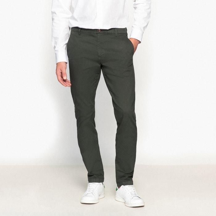 Pantaloni chino ALEXIS taglio slim  La Redoute Collections image 0