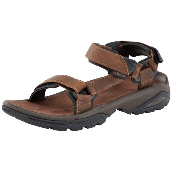 Terra Fi La Sandales 4 Leather Marron Homme Redoute Teva rrw1vq