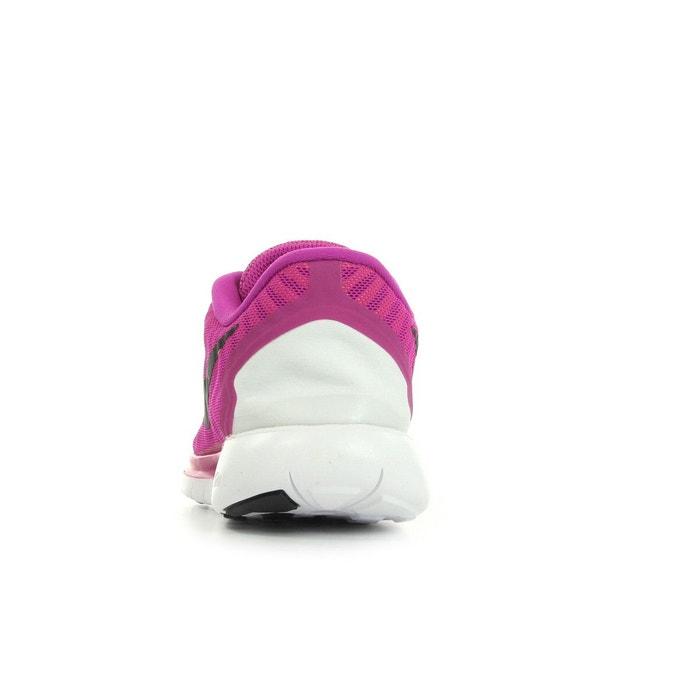 Wmns nike free 5.0 fuchsia, blanc et noir Nike