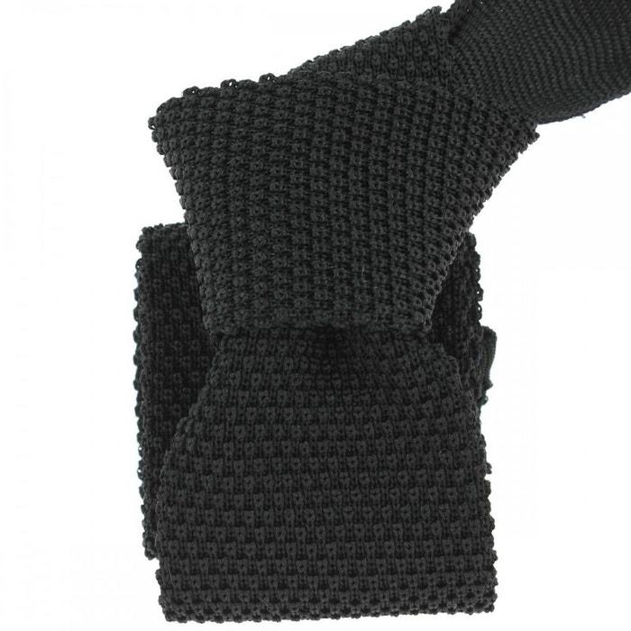 Cravate tricot noir fumo, soie, tony & paul noir Tony Et Paul | La Redoute