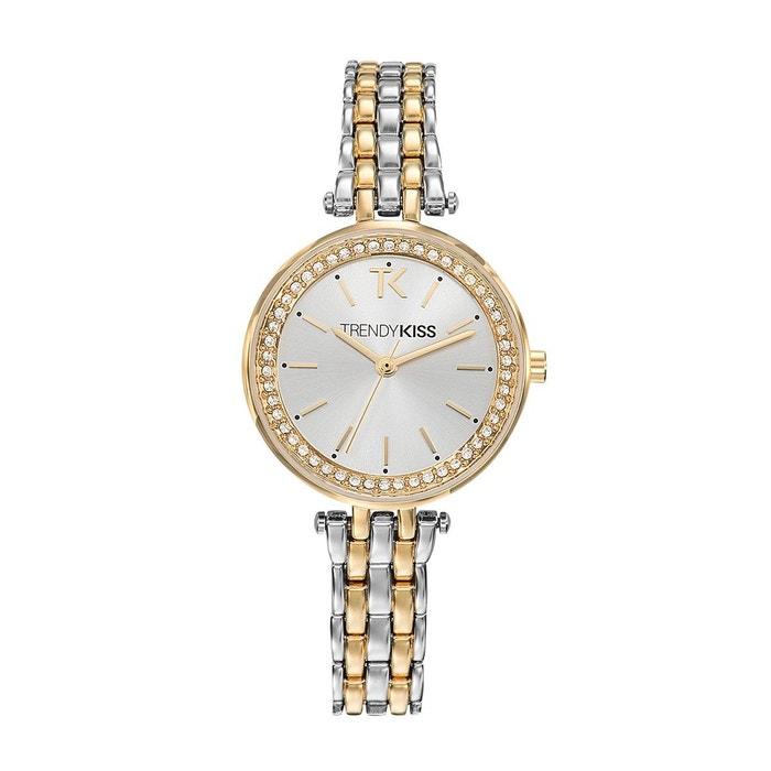 Montre analogique bracelet métal lidia Trendy Kiss | La Redoute Achats Vente De Vente En Ligne W9AX0vQ3wL