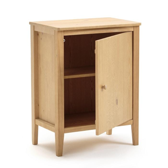 Mueble de cocina 1 puerta alvina natural la redoute for Mueble de cocina 8 puertas