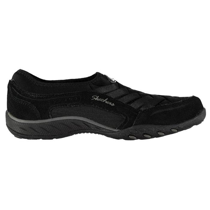 Chaussures décontractées en cuir  noir Skechers  La Redoute