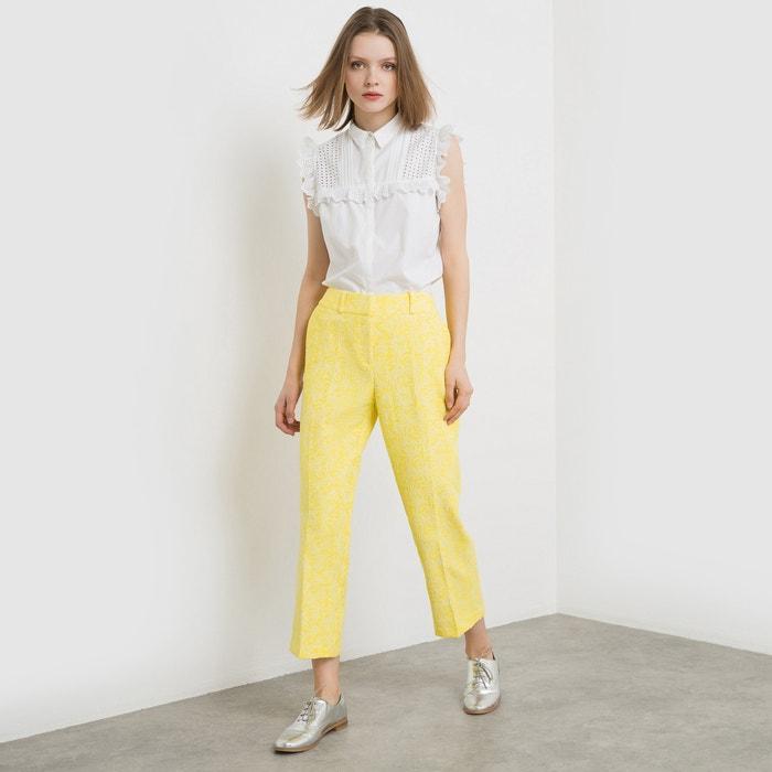 Image Pantaloni a pinocchietto in jacquard MADEMOISELLE R