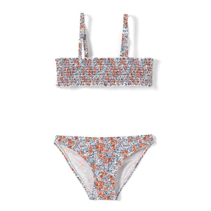 afbeelding Bikini met bloemenprint 3-12 jr La Redoute Collections