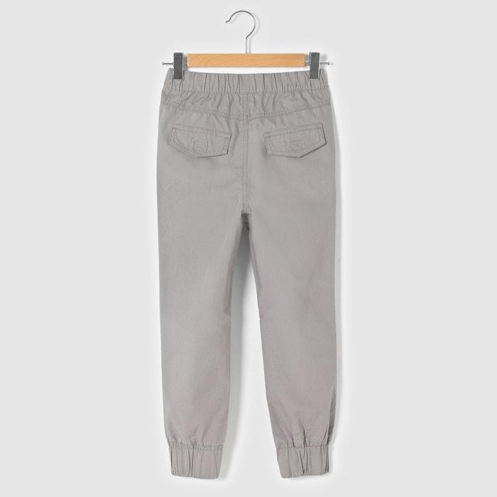 Cotton Poplin Trousers, 3-12 Years