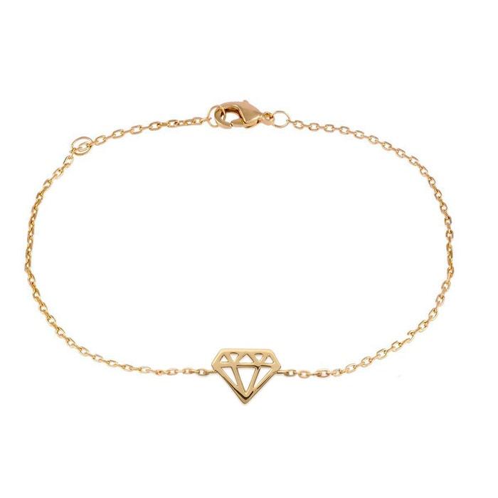 Livraison Gratuite À Faible Frais D'expédition Vente Pas Cher Avec Mastercard Bracelet chaine 'diamant' j5qpCI