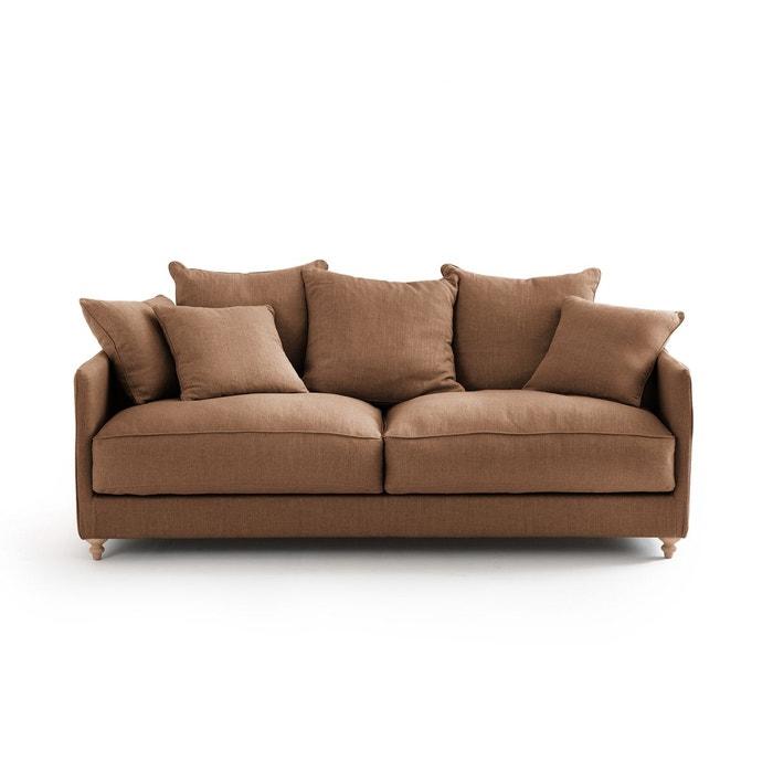 canap convertible lazare lin stonewashed am pm la redoute. Black Bedroom Furniture Sets. Home Design Ideas