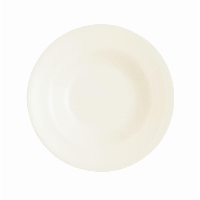 presidence assiette p te 28 cm blanc luminarc la redoute. Black Bedroom Furniture Sets. Home Design Ideas