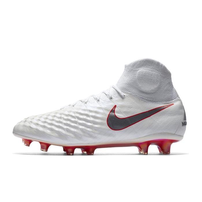 8aa7d1fbb0697 Chaussures football nike magista obra ii elite df fg blanc blanc Nike   La  Redoute