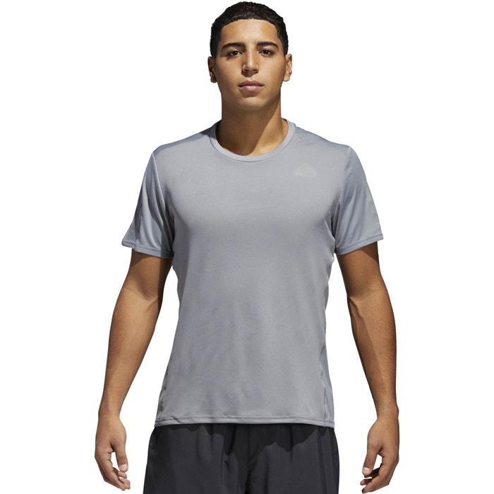 ADIDAS de cuello y manga redondo delante estampado Camiseta con corta PERFORMANCE Z1xrqFw8Z