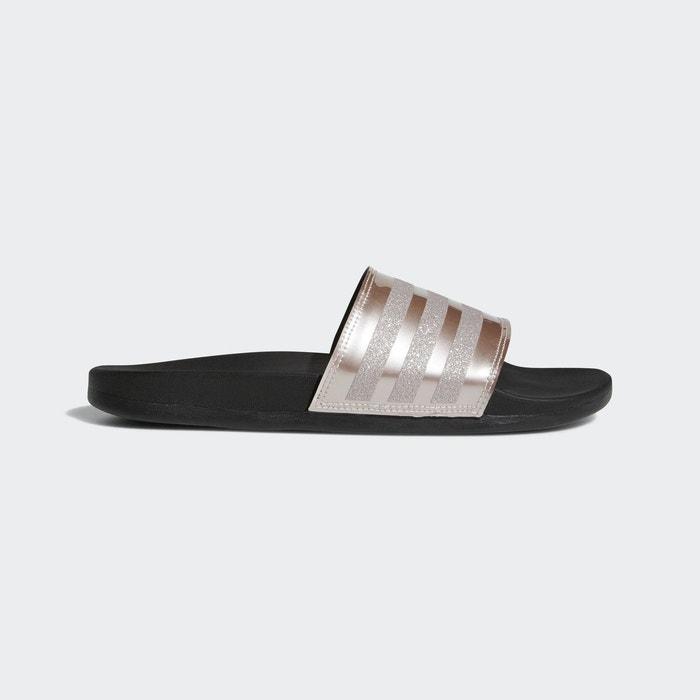 san francisco 7f3c2 8bda2 Sandale adilette cloudfoam plus explorer argent Adidas Performance  La  Redoute
