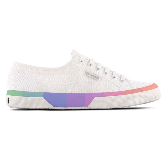 Chaussures 2750-cotmultifoxingu  a22 - white multicolor 1 Superga  La Redoute