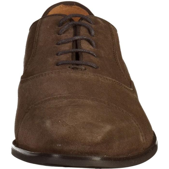 Chaussures basses chocolat Geox