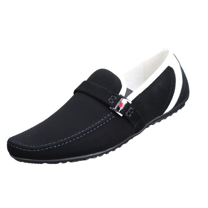 Chaussure derbie à boucles noir Uomo