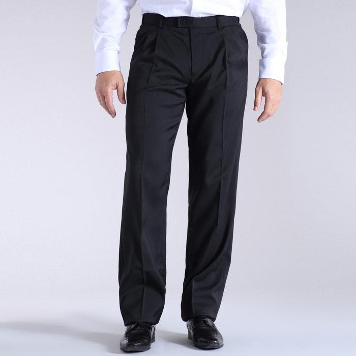 Image Adjustable Stretch Trousers with Darts CASTALUNA FOR MEN