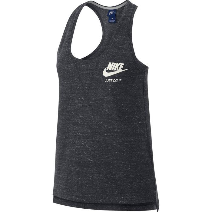 buy popular 5209b e45a5 Débardeur dos nageur sportswear gym vintage gris anthracite chiné Nike   La  Redoute
