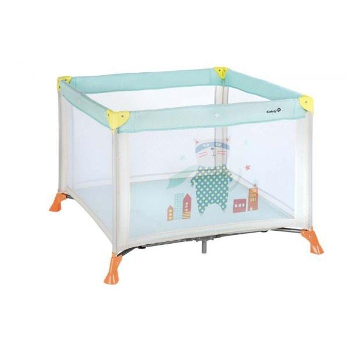 parc safety 1st 39 circus 39 jaune bleu couleur unique baby fox la redoute. Black Bedroom Furniture Sets. Home Design Ideas