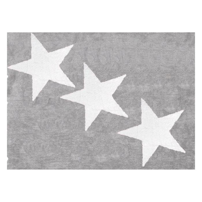 Tapis enfant coton gris trio d 39 toiles blanches gris lilipouce la redoute - Tapis enfant la redoute ...