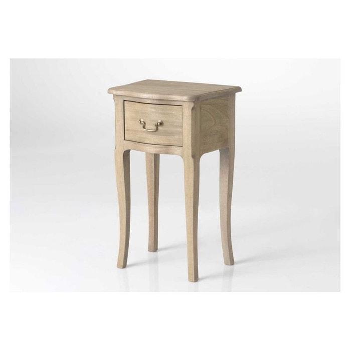 chevet 1 tiroir laurence hellin depuis 1862 la redoute. Black Bedroom Furniture Sets. Home Design Ideas