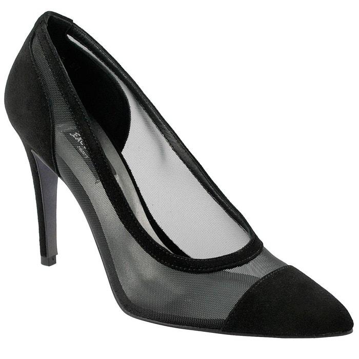 Chaussures à talons kylie noir Exclusif Paris