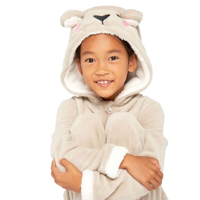 3bc90885cf188 Combinaison pyjama 'ours' beige Lolaliza | La Redoute