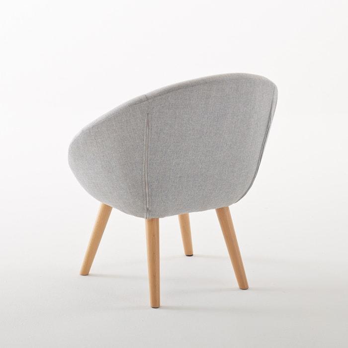 fauteuil boule pi tement h tre jimi la redoute. Black Bedroom Furniture Sets. Home Design Ideas