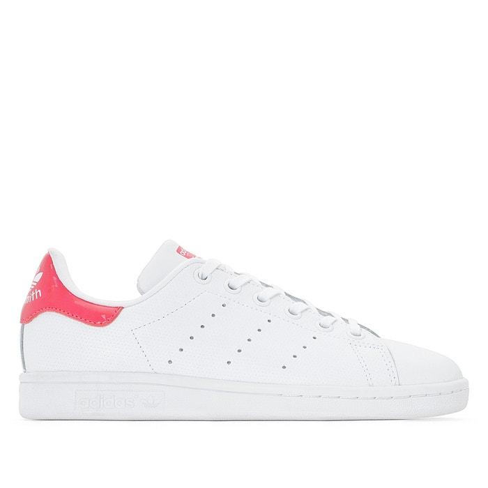 sneakers stan smith j weiss rosa adidas originals la redoute. Black Bedroom Furniture Sets. Home Design Ideas