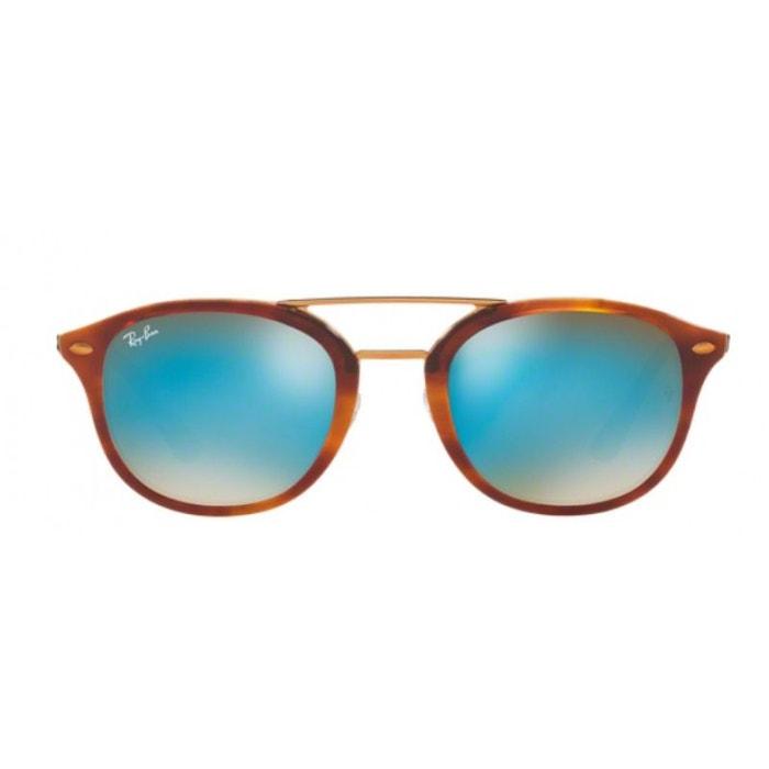 be02863ed7 Lunettes de soleil mixte ray ban havana brown honey rb2183 1128b7 53/21  ecaille clair Ray-Ban | La Redoute