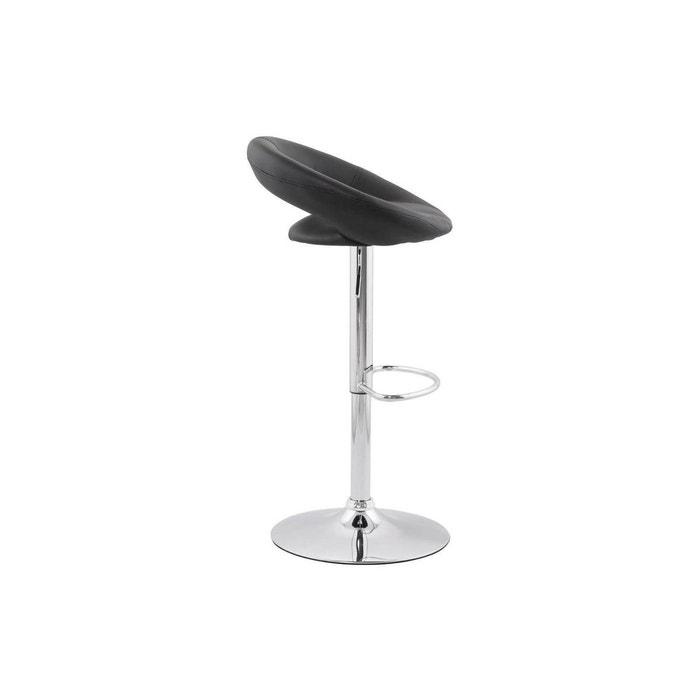 d5ece990b47f92 Chaise de bar atlantis kokoon design noir Kokoon Design   La Redoute