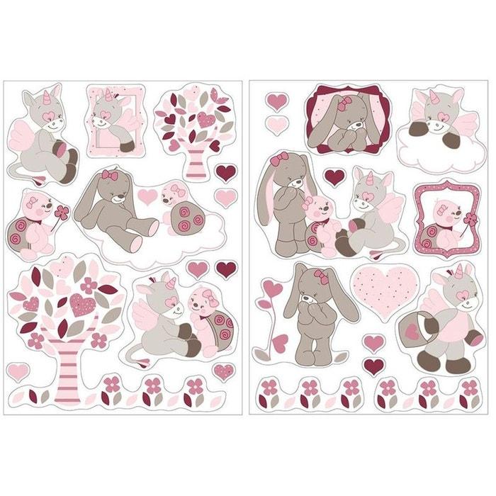 Autocollants Stickers Decoratifs Lili Jade Nina Nattou Nattou