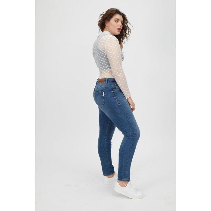 MS Mode Some,... jeans skinny coupe A délavé