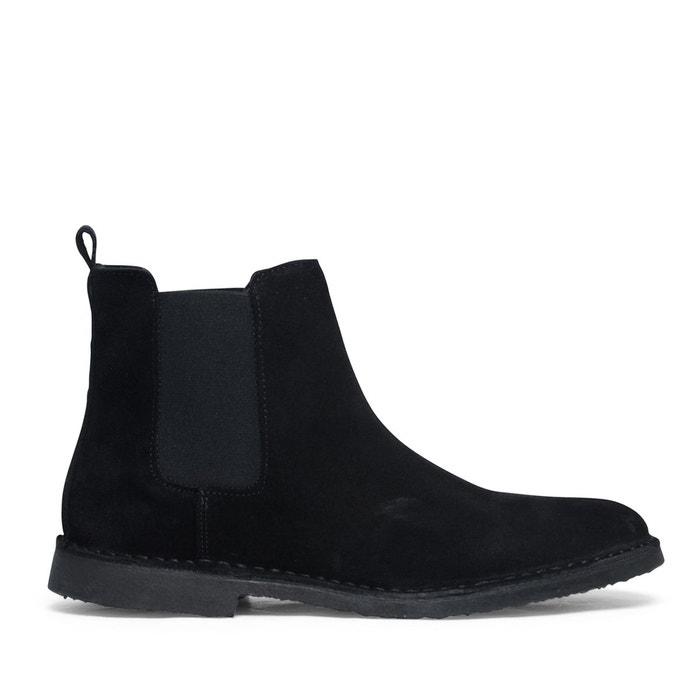 En Redoute Boots Daim Chelsea Noir SachaLa dQrCWBxeo