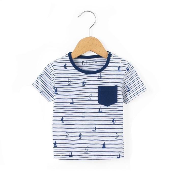 T-shirt rayé 1 mois - 3 ans La Redoute Collections
