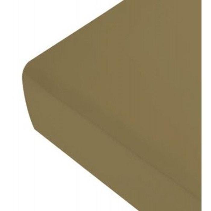 drap housse satin marron glac marron glac liou la redoute. Black Bedroom Furniture Sets. Home Design Ideas