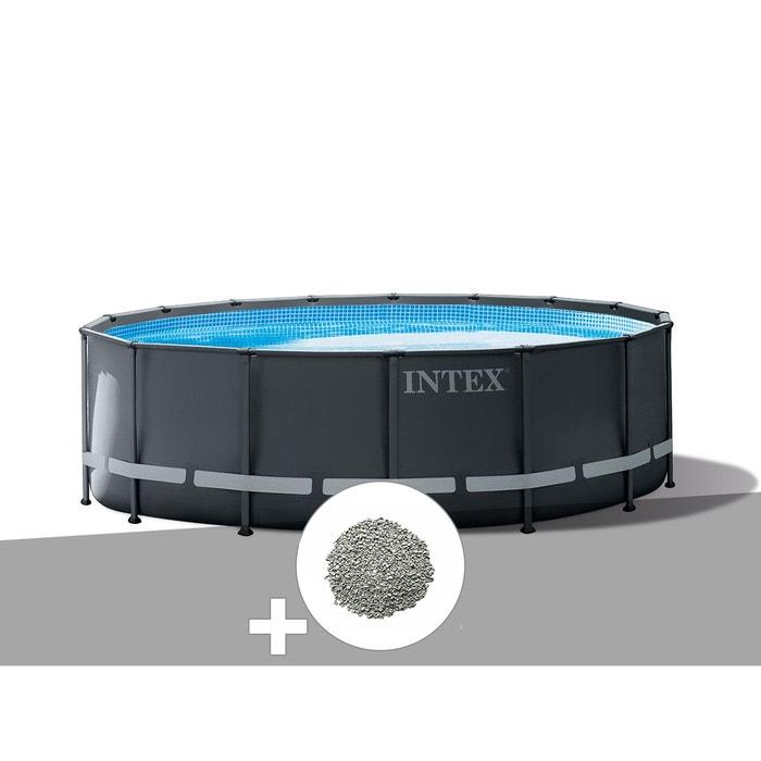 Piscine Tubulaire Ultra Xtr Frame Ronde 5 49 X 1 32 M Intex