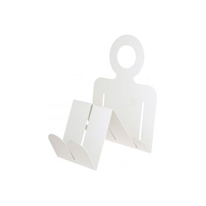 porte revues bonhomme blanc bonhomme blanc la chaise. Black Bedroom Furniture Sets. Home Design Ideas