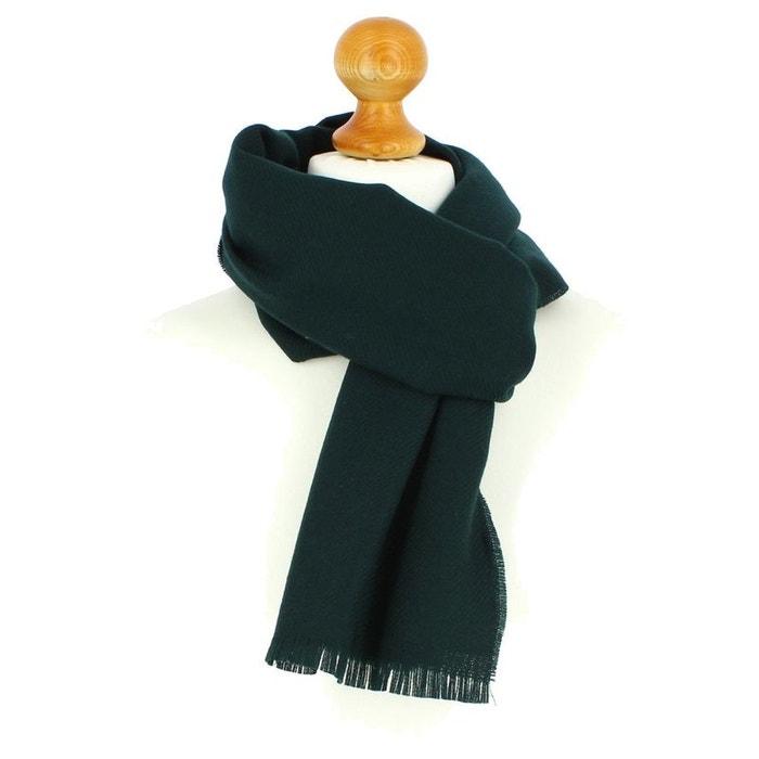 Echarpe en laine d'australie, 50x190cm, vert academique vert Tony Et Paul | La Redoute