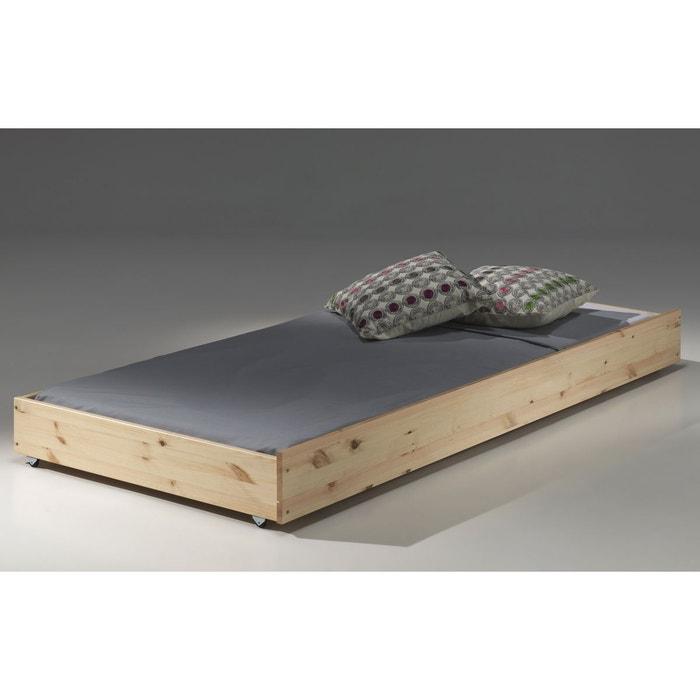 tiroir de lit 90x190 pour lit superpos naturel armance faustin naturel alfred et compagnie. Black Bedroom Furniture Sets. Home Design Ideas