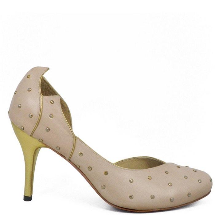 Chaussures femme en cuir DALLAS Rose zMS6Ma9