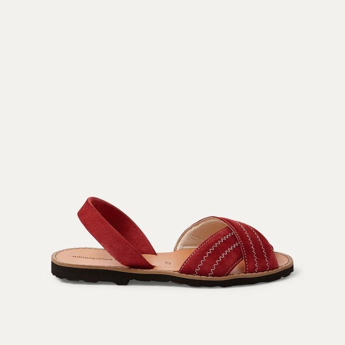 Image Sandales cuir MINORQUINES