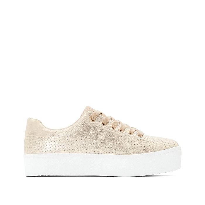 premium selection 48b9d 26a87 Sneakers in Glanzoptik, dicke Sohle