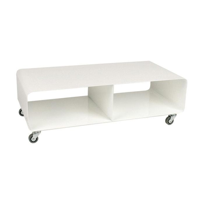 Meuble tv lounge mobile blanc kare design couleur unique for Meuble tv petite taille