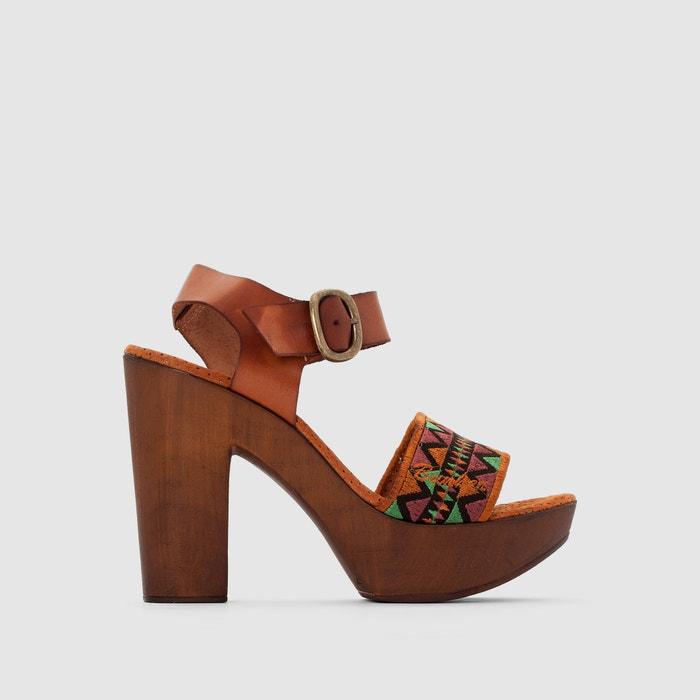 Sandaletten, hoher Absatz und Plateausohle  BUNKER image 0