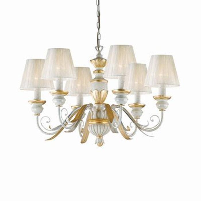 lustre flora 6x40w ideal lux 052663 boutica design. Black Bedroom Furniture Sets. Home Design Ideas