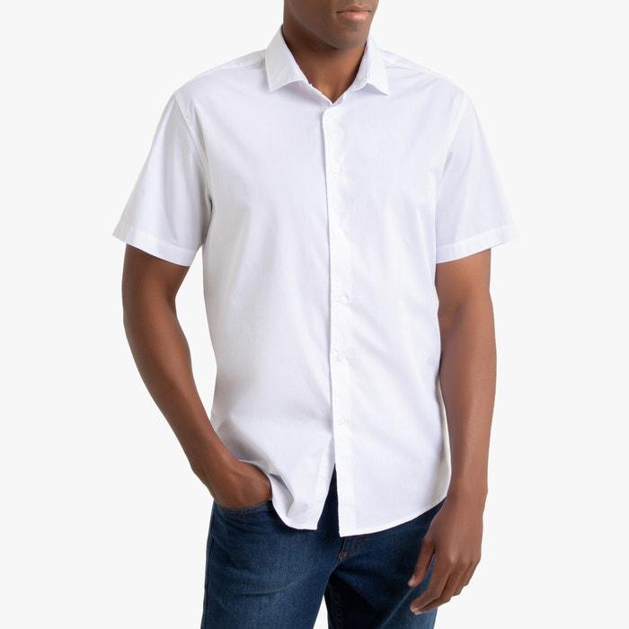 Recht hemd met korte mouwen, Christophe  LA REDOUTE COLLECTIONS image 0