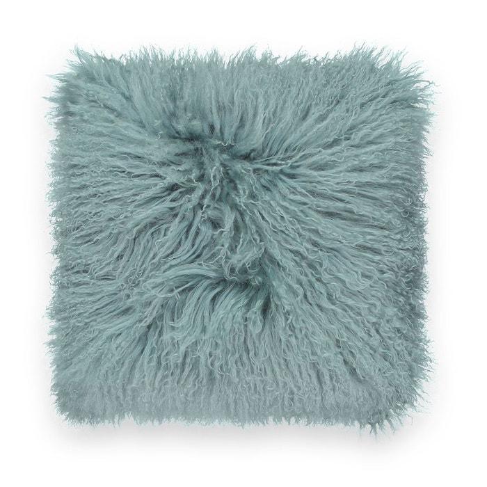 Housse de coussin laine de Mongolie OSIA  LA REDOUTE INTERIEURS image 0